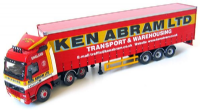 Corgi CC12411 Ken Abram Volvo FH12 and Curtain side trailer